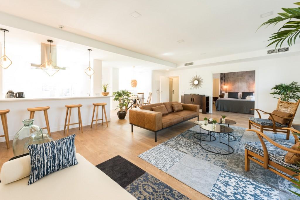 Espacioso apartamento de 94 m2 totalmente adaptado para personas con movilidad reducida
