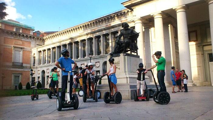 Segway tour en Madrid