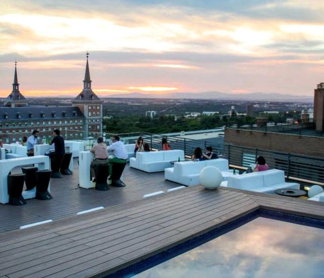 Tres en uno: Hotel Exe, el Mercado de Moncloa y la terraza de Poniente