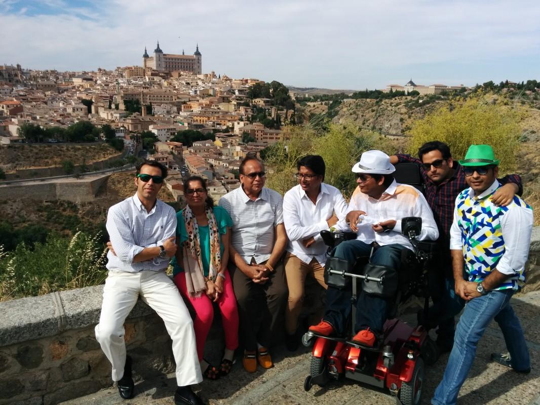 Visita accesible a Toledo en scooter de movilidad