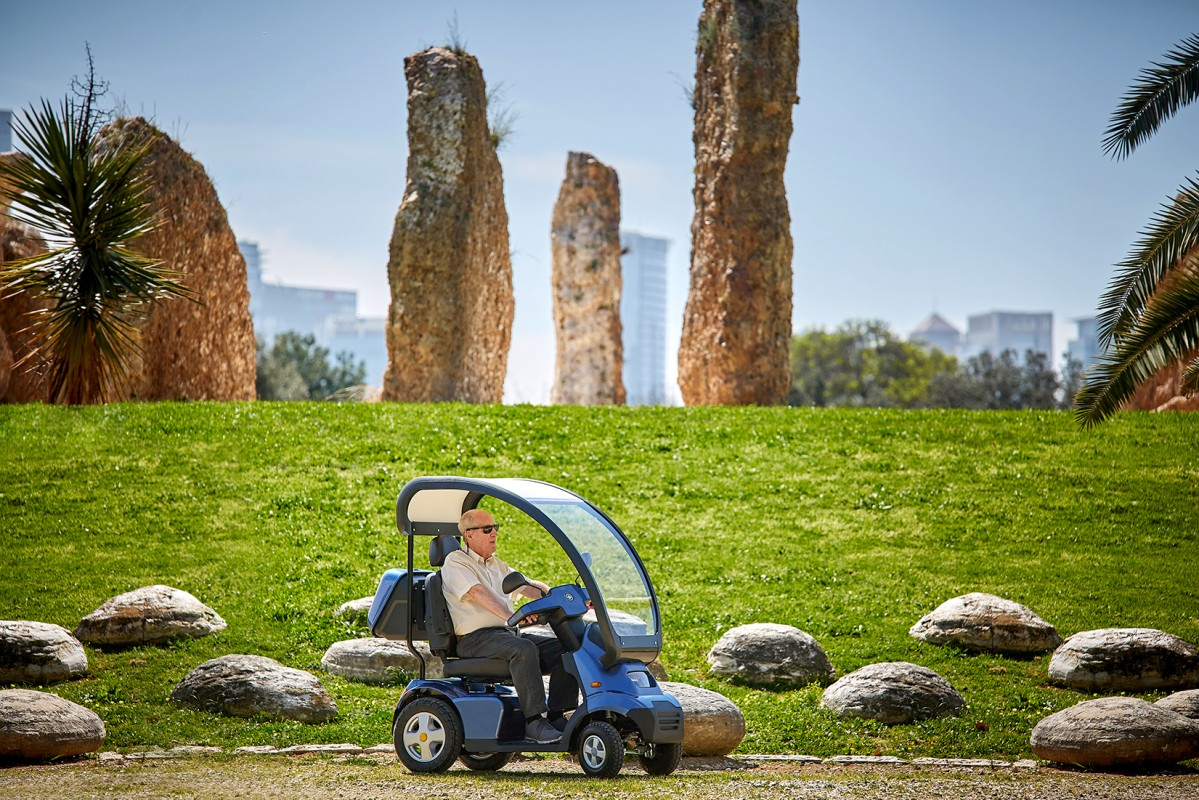 Afiscooter, el scooter de movilidad más avanzado del mercado