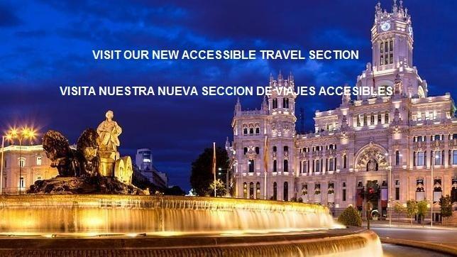 Nueva sección de Viajes Accesibles