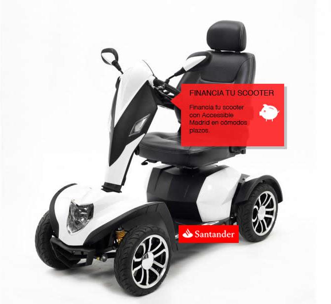 ¡Financia tu scooter con nosotros!