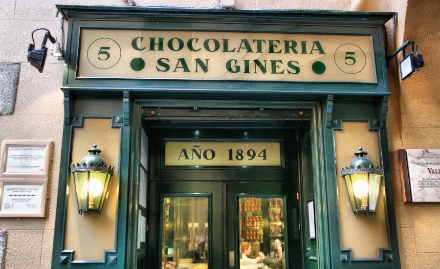 San Gines. Los mejores Churros de Madrid