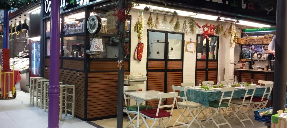 Cocinita. Cocina italiana en el Mercado