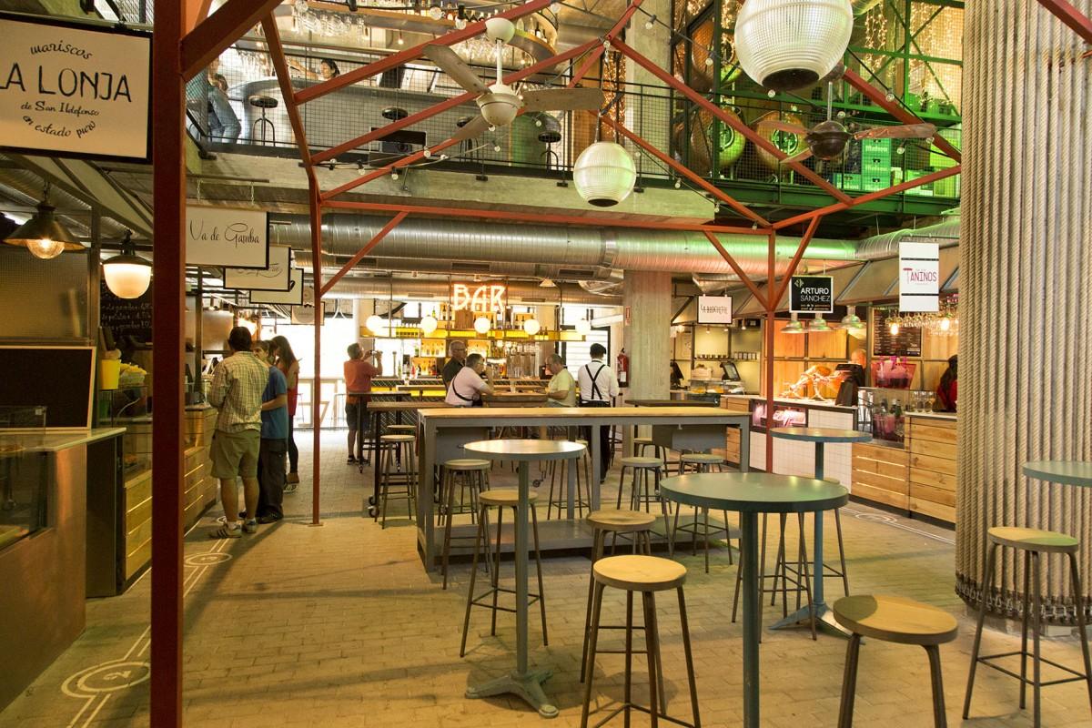 El Mercado de San Ildefonso