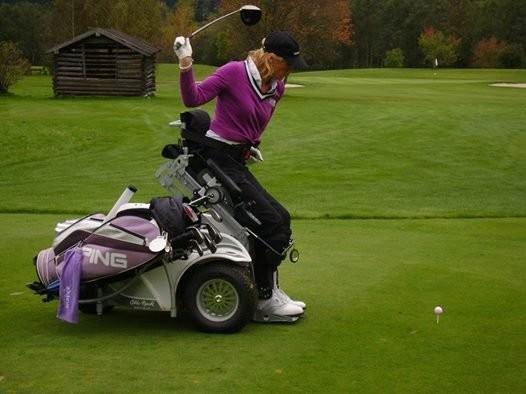 Golf adaptado en España.