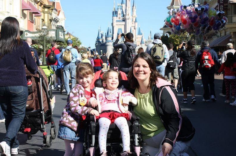 Disney World en silla de ruedas