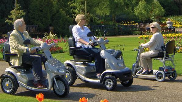 Elegir el scooter de movilidad más adecuado