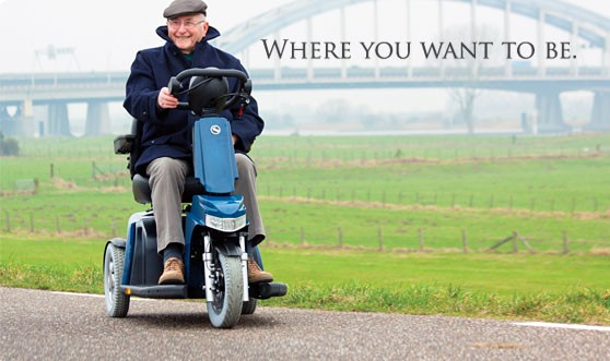 Sterling scooters. Elige Sunrise Medical
