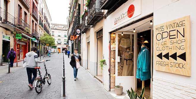 Malasaña-Triball. El barrio cool de Madrid.