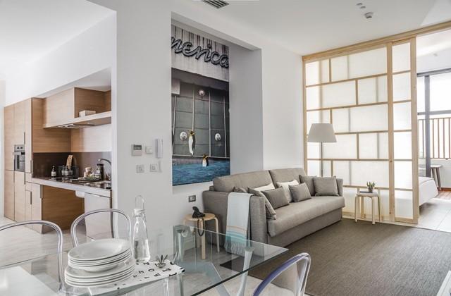 Apartamento vacacional adaptado en Madrid.