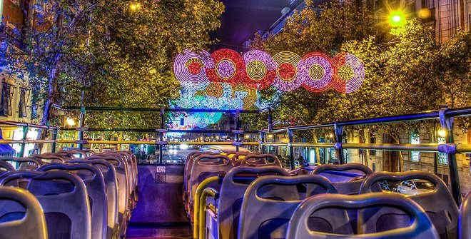 Naviluz, el Bus de la Navidad