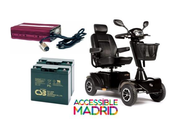 Scooters Eléctricos. Baterías y Cargadores