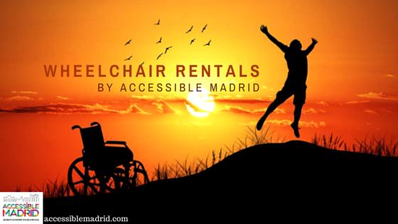 Wheelchair Rentals in Madrid