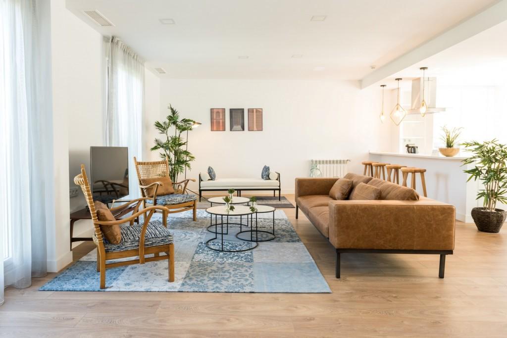 Apartamento vacacional adaptado en Madrid