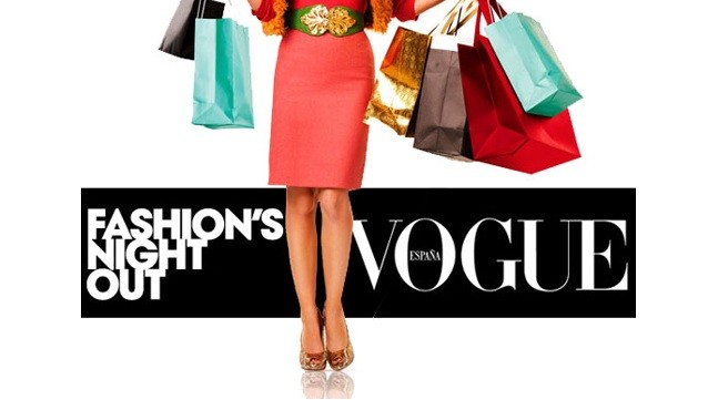 Vogue Fashion´s night out 2014