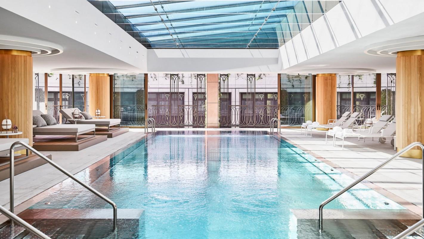 Swimming Pool and Spa Four Seasons Hotel Madrid
