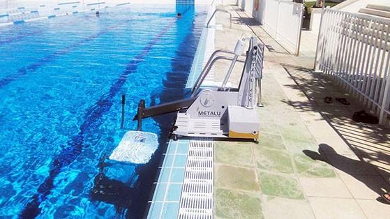 Ascensor acuático Metalu 400