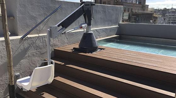 Ascensor acuático Metalu 3000