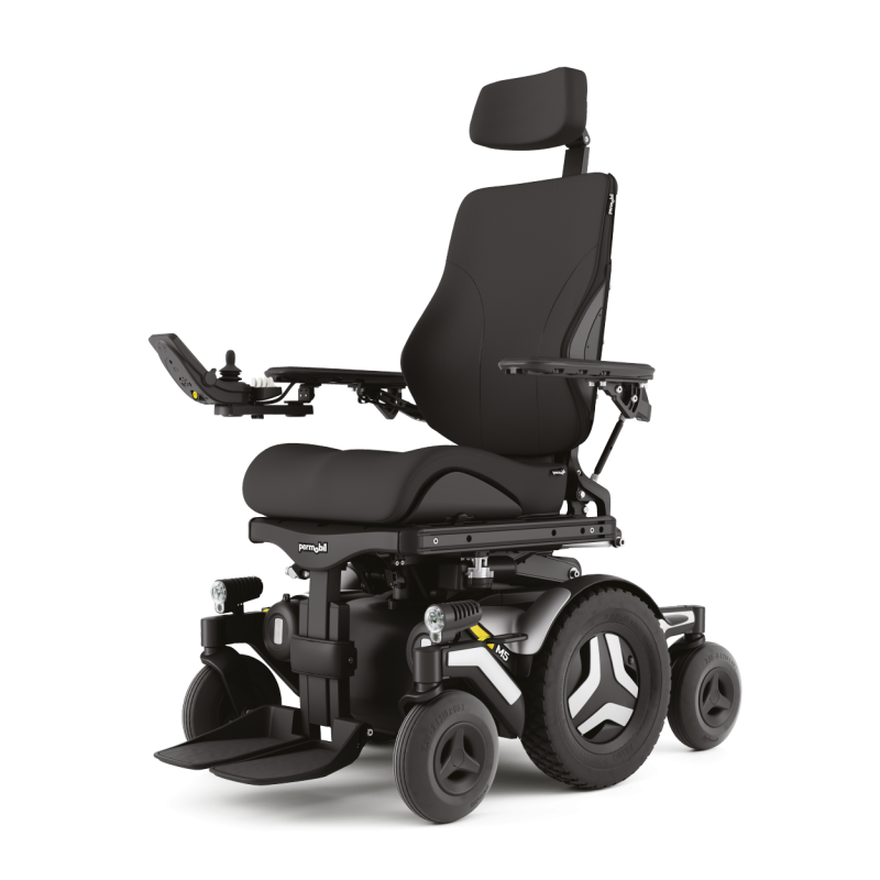 Permobil M5 Corpus silla electrónica de tracción central