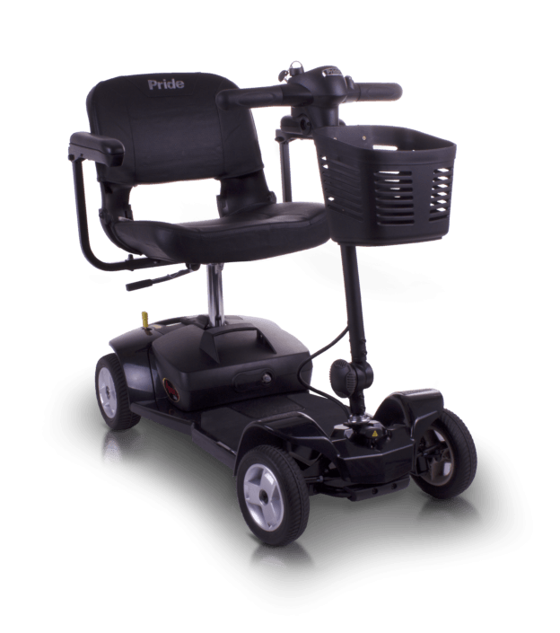 Pride Apex Lite scooter desmontable ligero