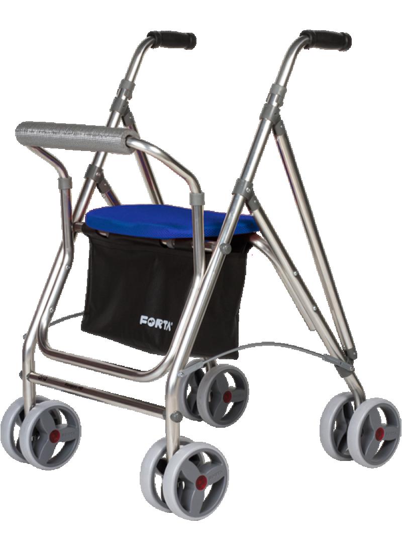 Kanguro HD 4-wheel walker