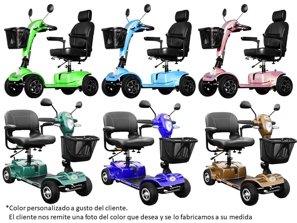 Custom Color Adaptation Scooters