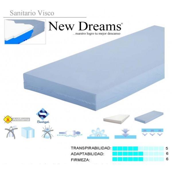 Viscoplus Sanitary Pressure Relief Mattress