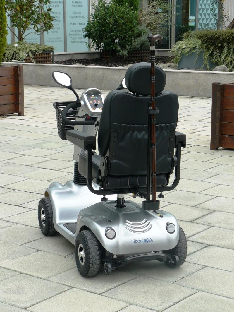 Portamuletas para scooter y silla de ruedas