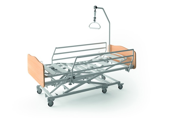 Adjustable bed with Xpress lift