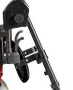 Reposapiés elevable derecho, izquierdo standard F35 R2