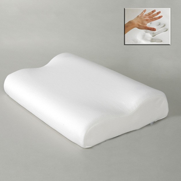 Viscoelastic cervical pillow