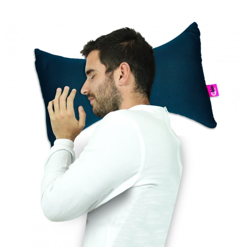 Anatomical cervical butterfly pillow