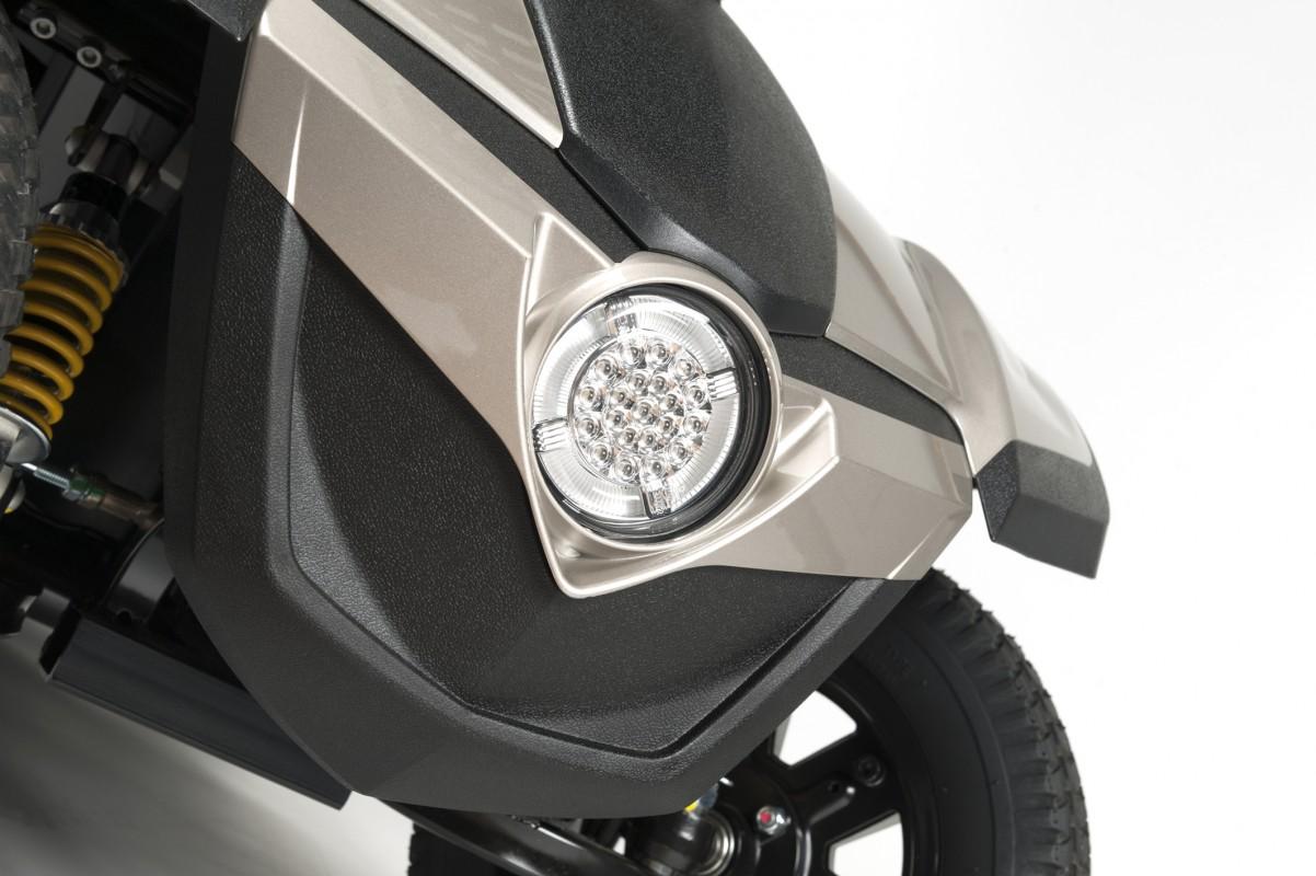 Vermeiren Mercurius 4 LTD scooter de movilidad heavy duty