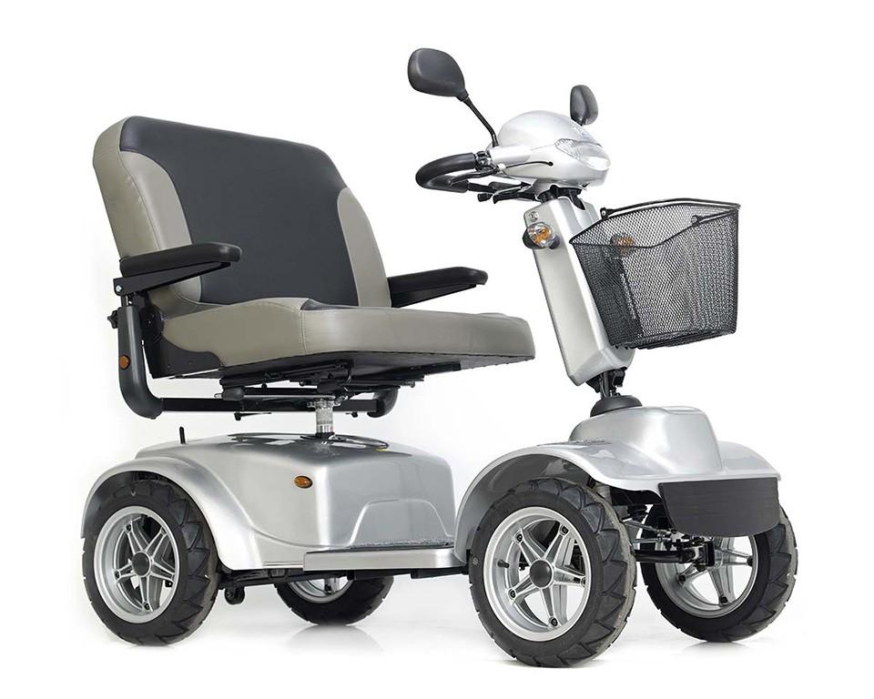 Teyder Dakar Duo scooter de movilidad bariátrico