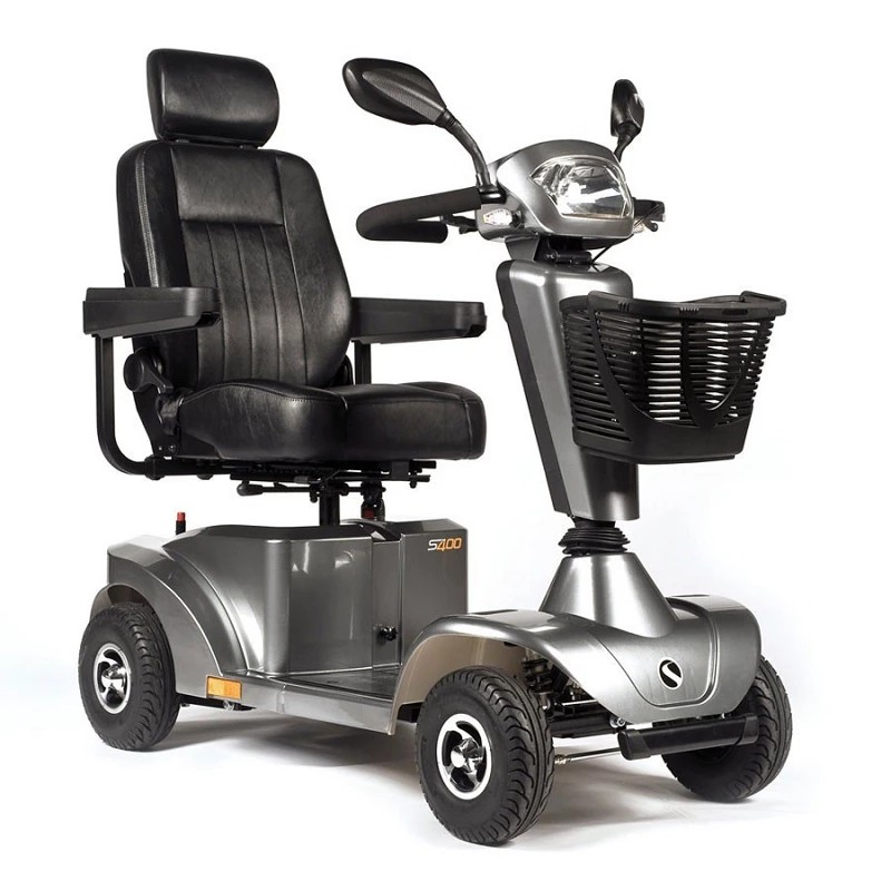 Sunrise S400 medium size mobility scooter