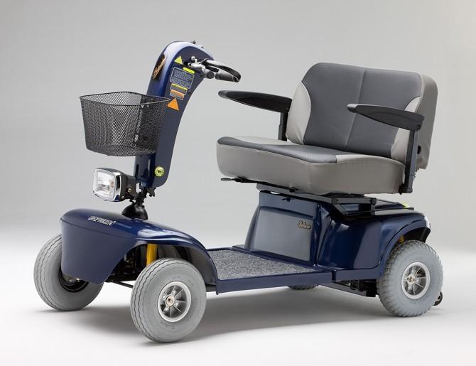 Shoprider TE-9D Tu y yo Duo bariatric mobility scooter