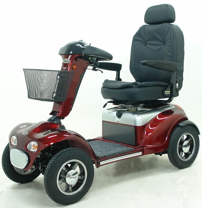 Shoprider TE-889 4x4 Luxury scooter de movilidad heavy duty