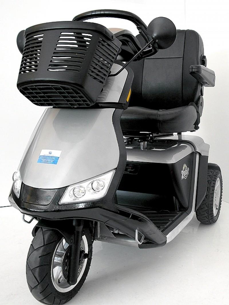 Pride Zolar scooter de movilidad de altas prestaciones
