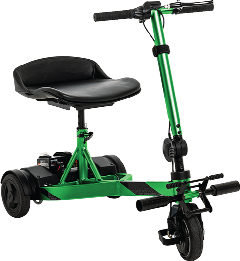 Pride iRide scooter plegable ligero