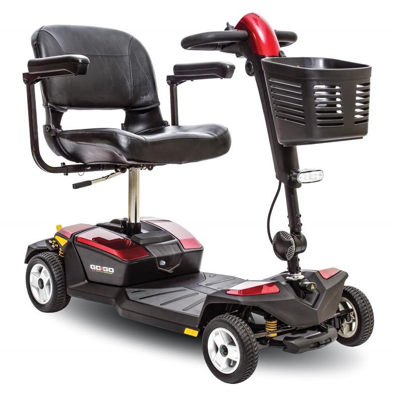 Pride Gogo LX 4R 18ah scooter desmontable con suspensión CTS