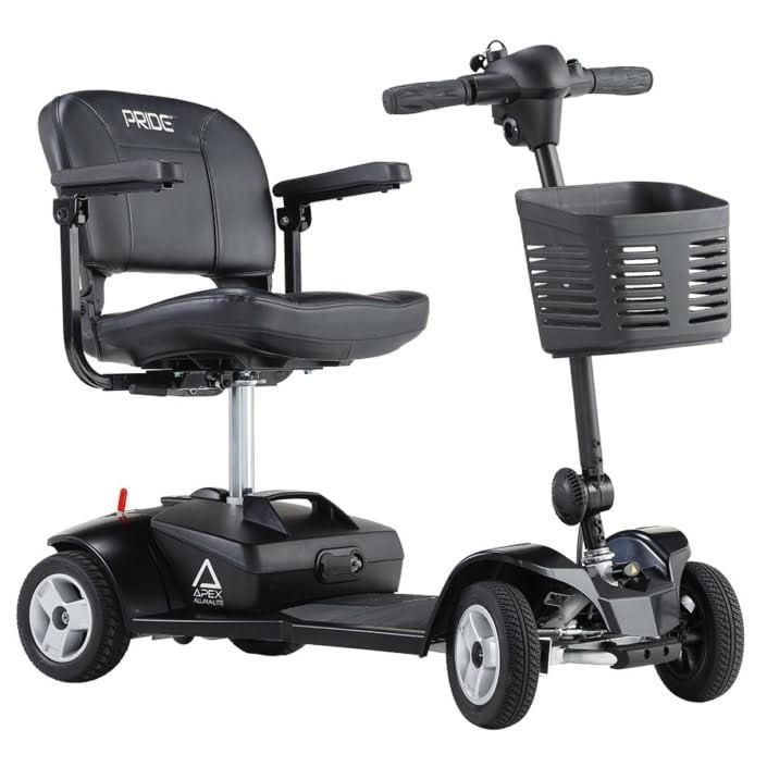 Pride Apex Alumalite scooter eléctrico desmontable