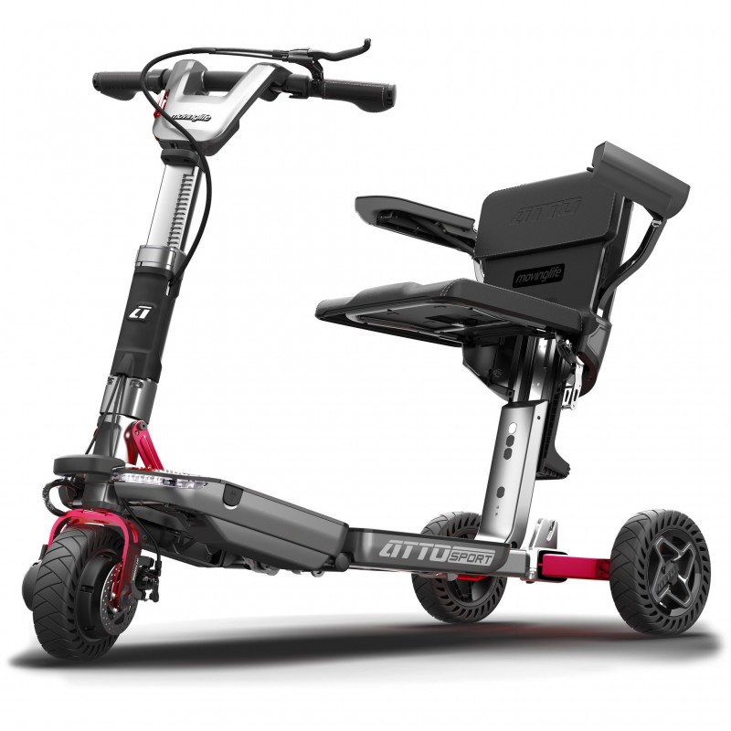 Moving Life Atto Sport foldable travel scooter