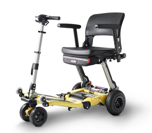 Luggie Super Plus L05 3AS scooter de movilidad plegable para usuarios grandes