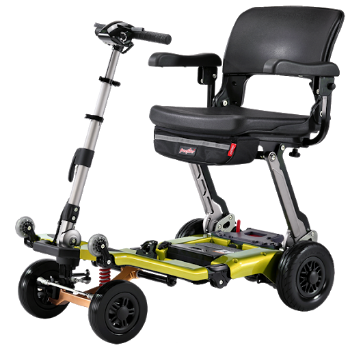 Luggie Super Deluxe L05 4AS scooter plegable bariátrico