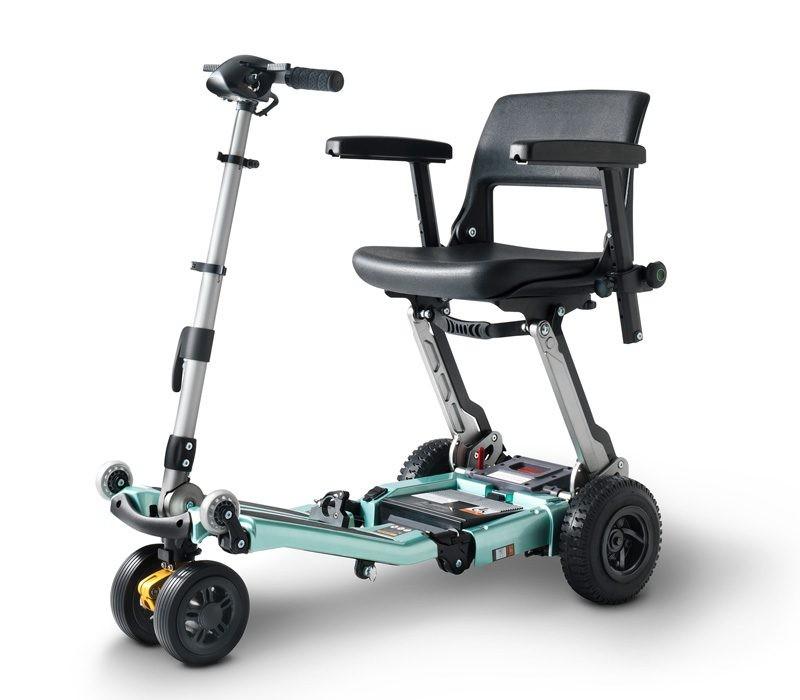 Luggie Elite Plus L02 3AS scooter de movilidad plegable