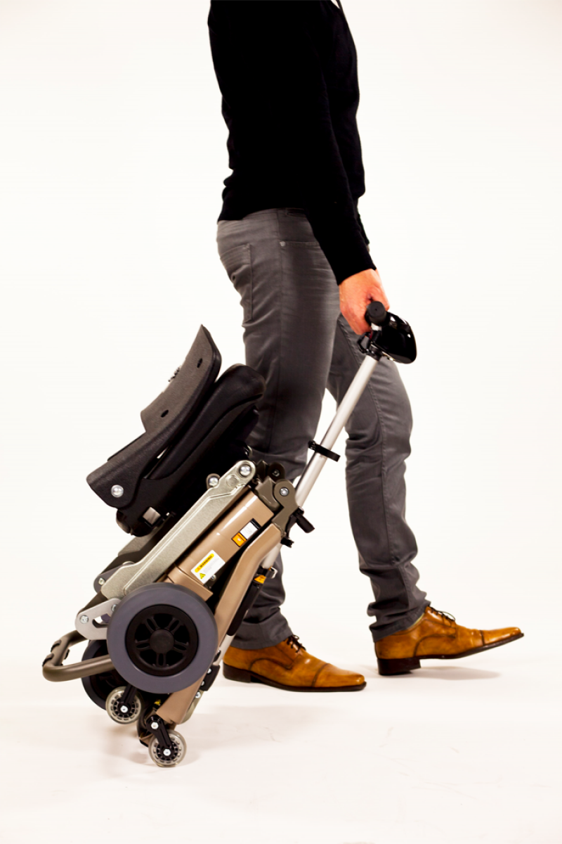 Luggie Elite lightweight and foldable mobility scooter