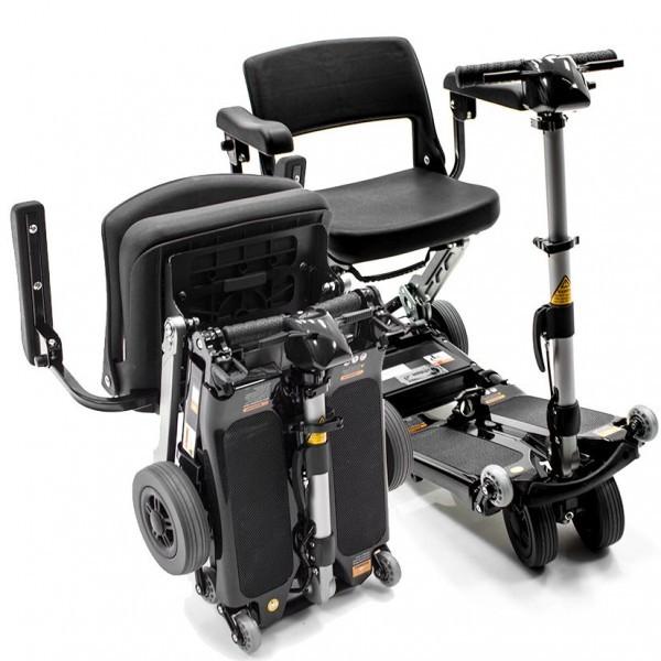Luggie Elite scooter de movilidad ligero plegable