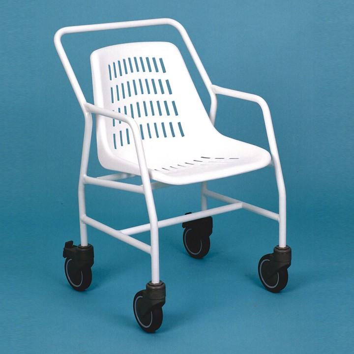 Bathroom wheelchair